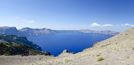 crater lake: Panorama of Crater Lake
