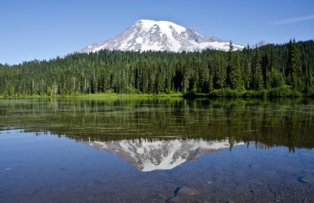 Mount Rainier Stockfoto - 10698750