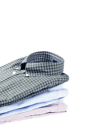 mens clothing: Stack of Men Stock Photo