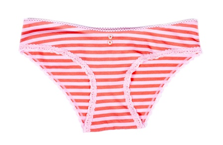 Colorful Panties Isolated on White Banco de Imagens - 12610672