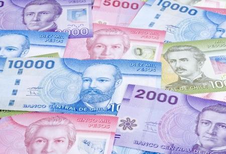 Closeup of Chilean Pesos Banco de Imagens - 12912258