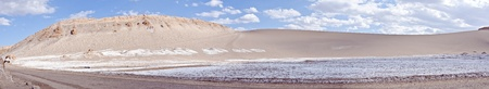Panorama of the Valley of the Moon Atacama Desert Chile Stock Photo - 13328724