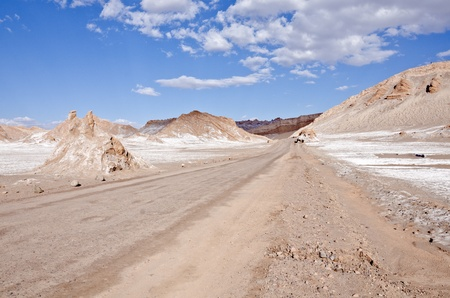 Valley of the Moon Atacama Desert Chile  photo