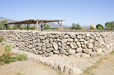 enclosure: Alpaca Enclosure or Pen Stock Photo