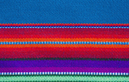 textures: Colorful Cotton Table Cloth Textures or Background Stock Photo