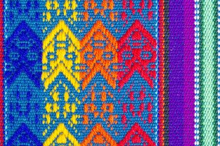 текстуры: Красочные Хлопок Скатерть текстуры или фона