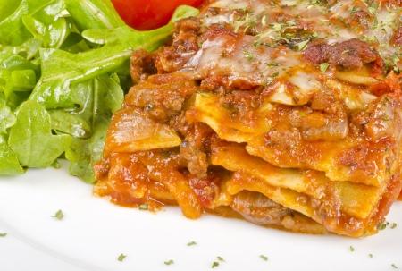Meat Lasagna Closeup Imagens - 16670014