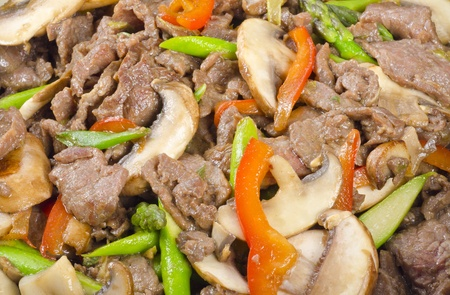 Stir Fry Beef and Vegetables  photo