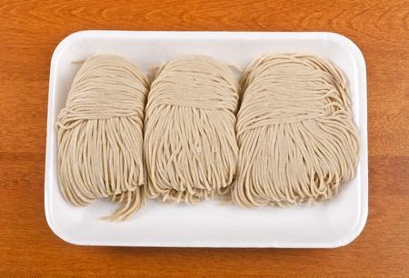 Raw Buckwheat Noodles