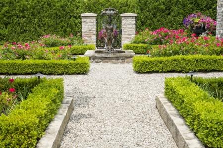 Formal Garden Фото со стока - 20776645