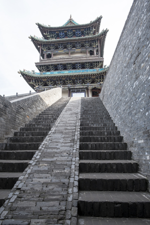 fortified: Fortified Ancient City of Pingyao in Shanxi