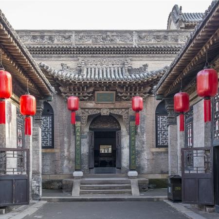 chinese courtyard: Qiao Family Courtyard in Pingyao China
