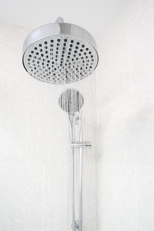 Rain Shower Head with Running Water