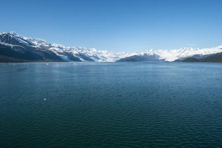 landscape: College Fjord Glaciers Alaska  Stock Photo