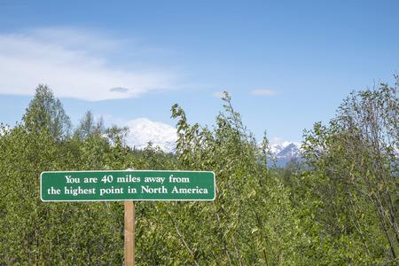 mckinley: Mount McKinley Alaska Stock Photo