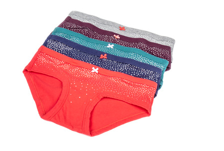 cotton panties: Womens Colorful Cotton Panties with Bows and Silver Stars