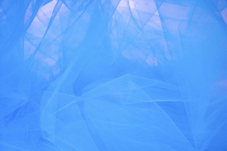 fabric textures: Abstract Blue Tulle Fabric Background and Textures