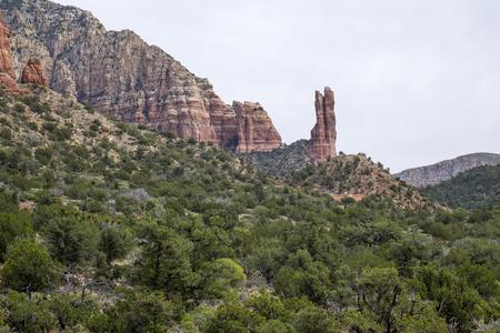 sedona: Rabbit Ears Rock in Sedona Arizona