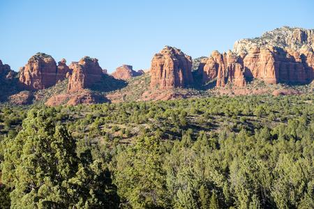 sedona: Beautiful Vistas Seen from Hiking Trails in Sedona Arizona