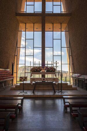 interior shot: Interior Shot of a Church in Arizona Editorial