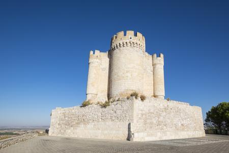 Castle of Peñafiel of Spain