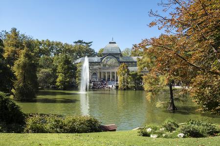 Crystal Palace in Madrids Buen Retiro Park