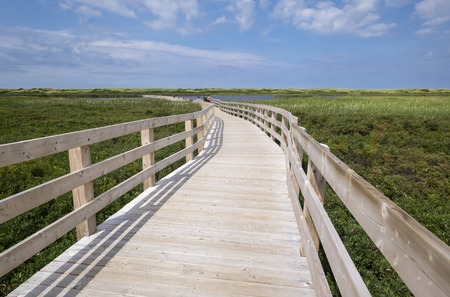 Greenwich Dunes Trail in Northern Prince Edward Island Canada