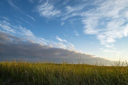 Beautiful Cloud Formation at Sunset Reklamní fotografie