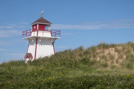 Covehead Lighthouse in Prince Edward Island Canada