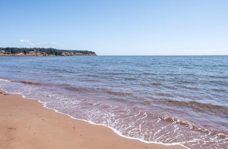 Spry Cove Beach in Prince Edward Island Canada Reklamní fotografie