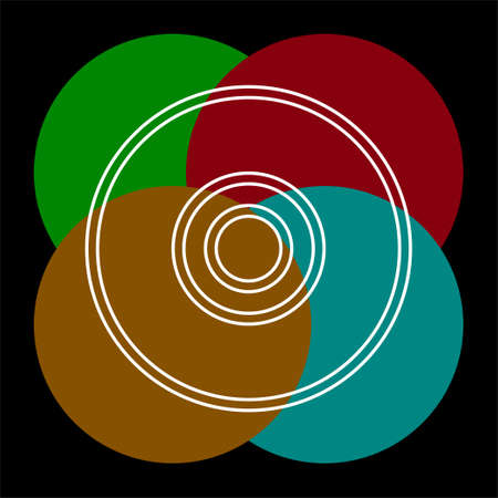 vector compact disc - music icon, dvd or cd storage. Thin line pictogram - outline editable stroke 向量圖像