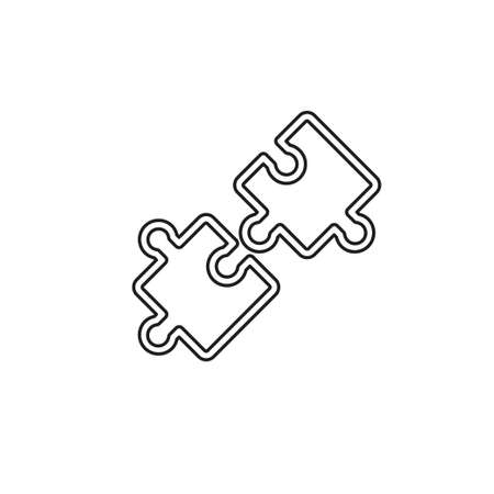 compatibility icon. Simple element illustration. compatibility concept symbol design. Can be used for web and mobile. Thin line pictogram - outline editable stroke