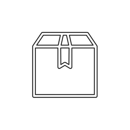 Think out of box concept line icon. Simple element illustration. Think out of box concept outline symbol design from Project management set. Thin line pictogram - outline editable stroke Illustration