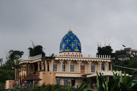 Bali, Indonesia - 15.05.2016: Masjid Miftahul Mubin Mosque