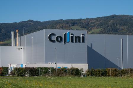 Judenburg, Austria - 05.10.2017: The Collini galvanising plant