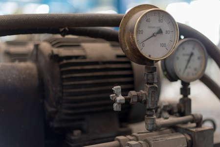 factory machine: Old factory machine detail Stock Photo