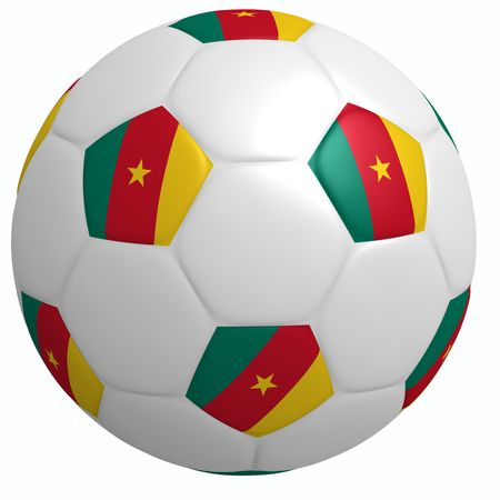 This is to illustrate the football of Cameroon
