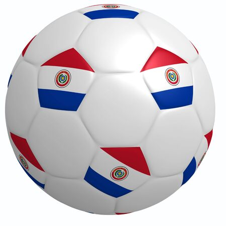 This is to illustrate the football of Paraguay