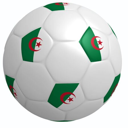 This is to illustrate the football of Algeria photo