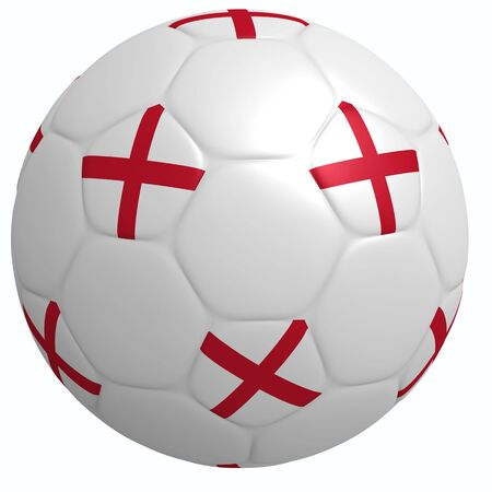 This is to illustrate the football of England Stock Photo