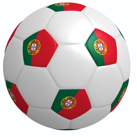 This is to illustrate the football of Portugal