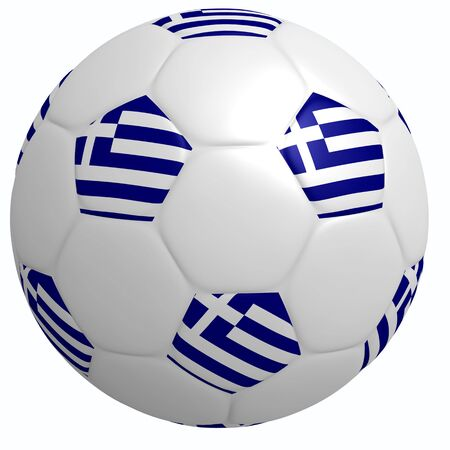 This is to illustrate the football of Greece