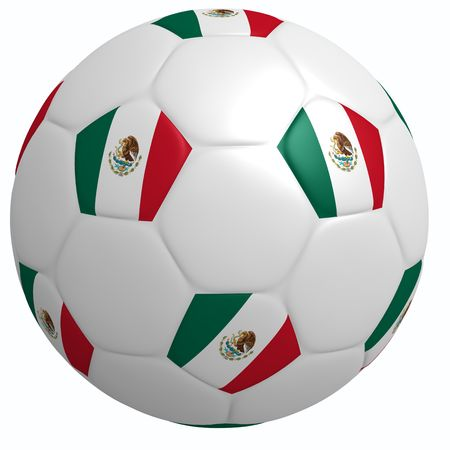 This is to illustrate the football of Mexico