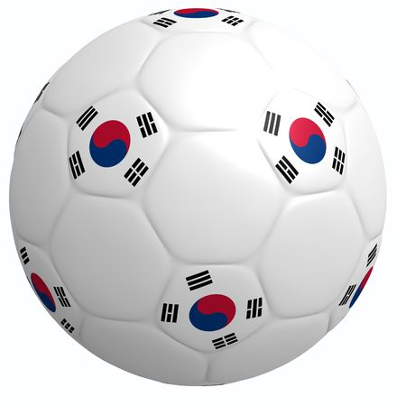 This is to illustrate the football of South Korea
