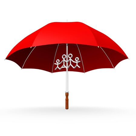 sunshade: This is to illustrate the family insurance