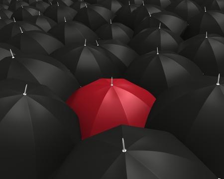 best shelter: Good insurance Stock Photo