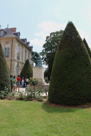 pensador: El pensador Museo Rodin