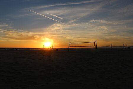 hermosa beach: Hermosa Beach Sunset