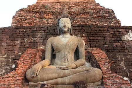 Sukhothai Buddha acropolis. Stock Photo - 7157796