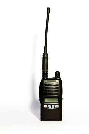 radio communication , at use contact with for government servant way , Stock Photo - 7706974